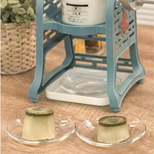 かき氷×すっきりフルーツ青汁