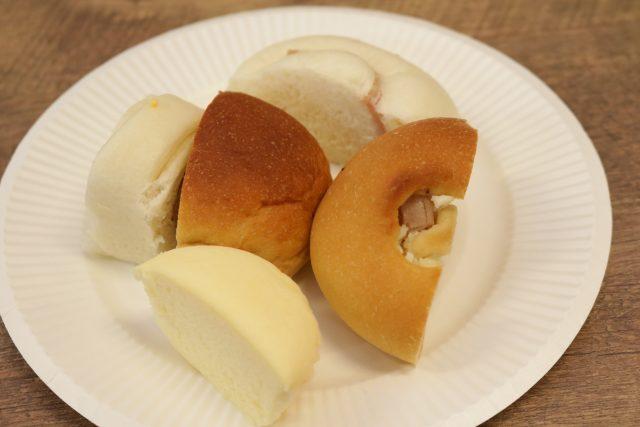 いろんな低糖質パン