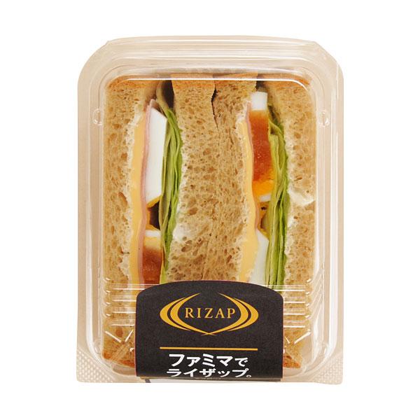 ファミリーマート『RIZAP ハムとチーズのサンド』