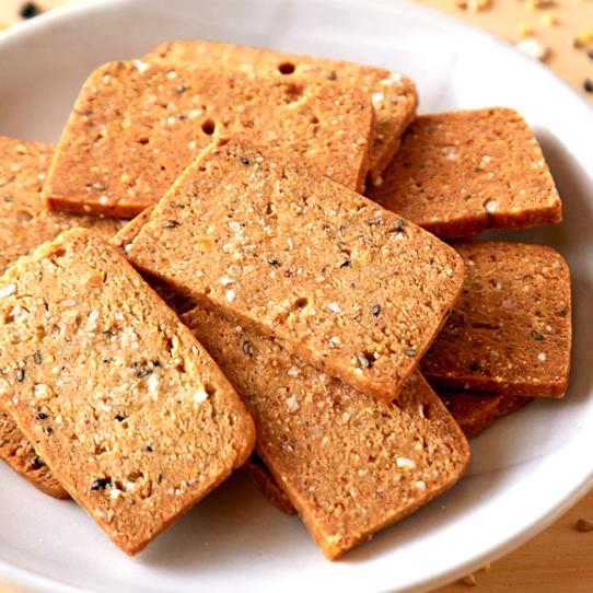 20雑穀入り豆乳おからクッキー
