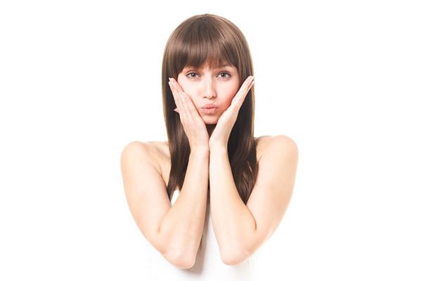 美容に気を使っている女性