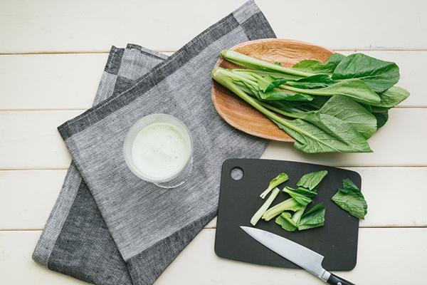 小松菜で作った青汁